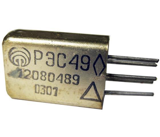 Реле постійного струму РЭС 49