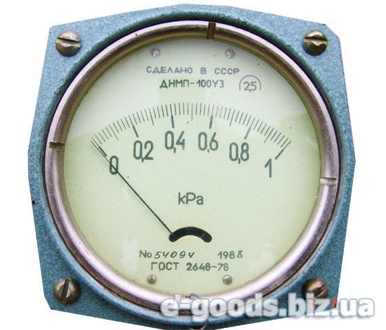 Датчик тиску ДНМП-100УЗ 1кРа