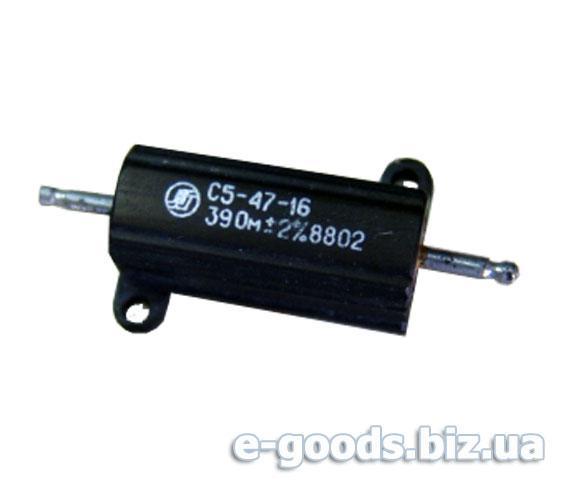 Дротяний резистор С5-47-16 39Ом