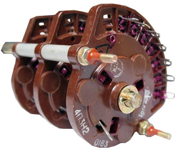 Перемикач поворотний 4П3Н2