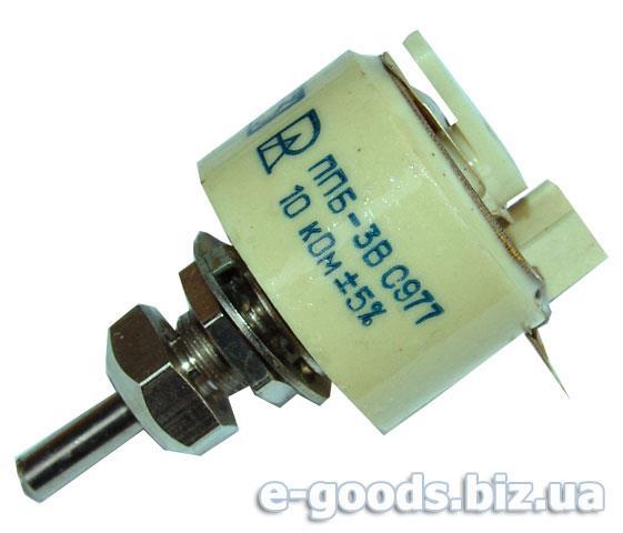 Резистор змінний ППБ-3В 10кОм