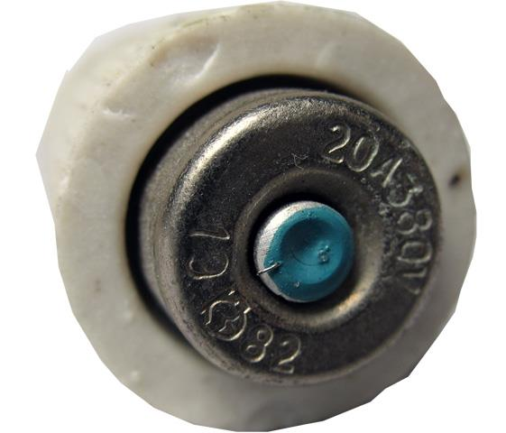 Запобіжник керамічний 20А, 380В