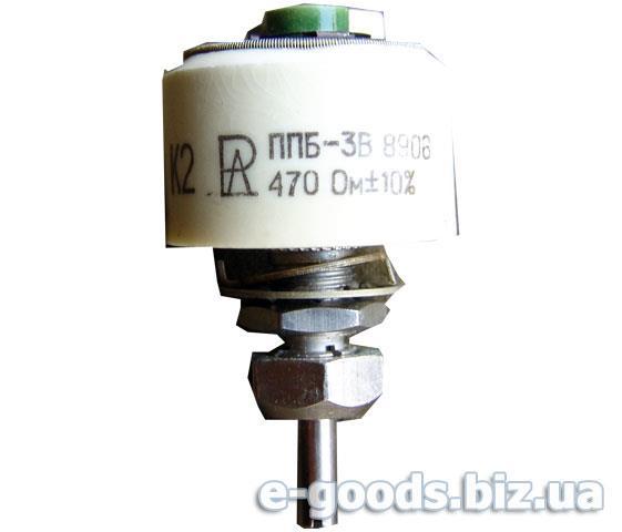 Опір ППБ-3В 470Ом
