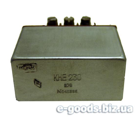 Контактор постійної напруги КНЕ 230, 27В