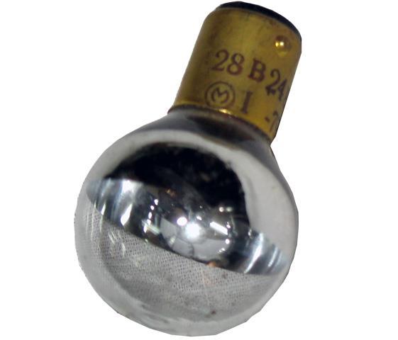 Лампа розжарювання дзеркальна СМ 28-24Вт