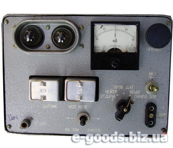 Пристрій для перевірки реле типу РП-4 ППР