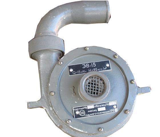 Електричний вентилятор ЕВ-15