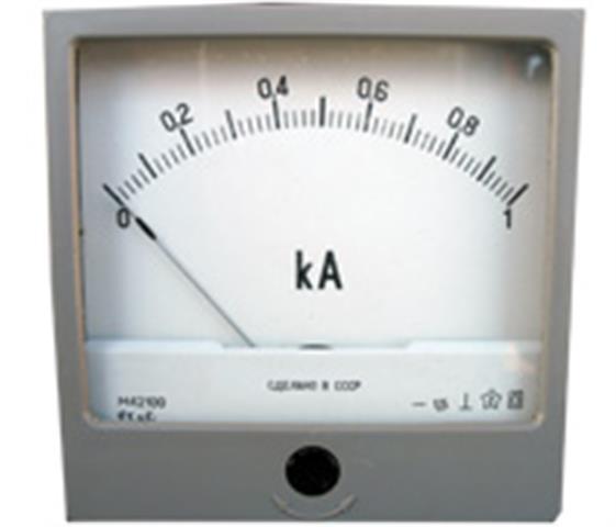 Прилад вимірювальний сили постійного струму, кілоамперметр М42100