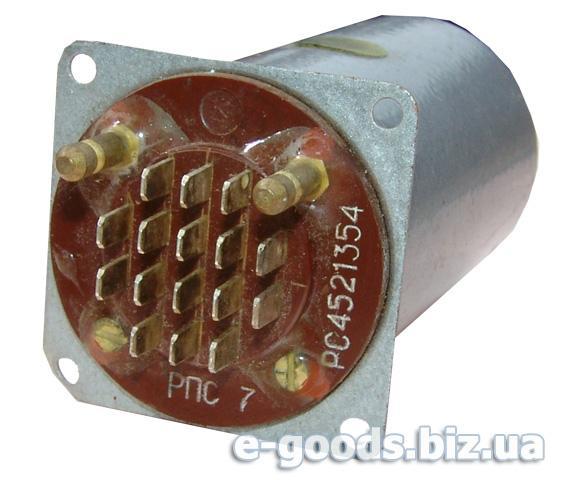 Реле постійного струму РПС 7 РС4521354