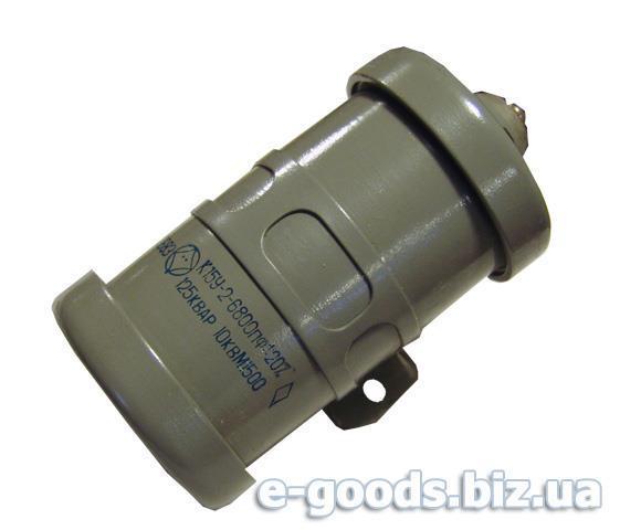 Конденсатор керамічний К15У-2-6800пф-125КВАР-10КВ М1500
