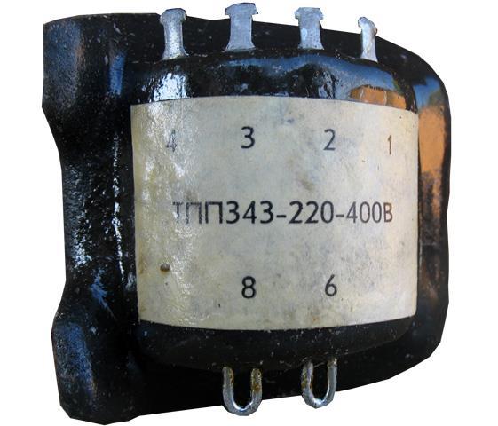 Трансформатор ТПП-343-220-400В
