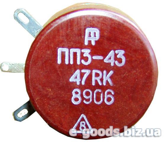 Опір ПП3-43 47Ом