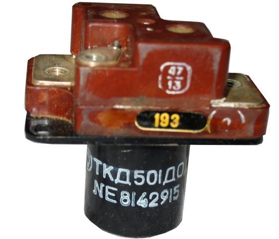 Контактор постійної напруги ТКД501ДОД