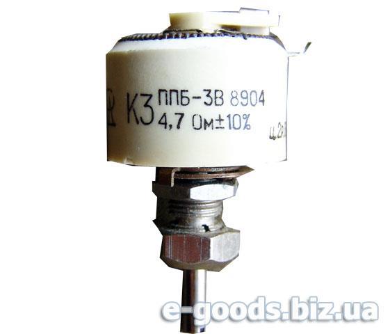 Опір ППБ-3В 4,7Ом