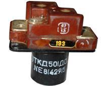ТКД501ДОД - контактор постійної напруги