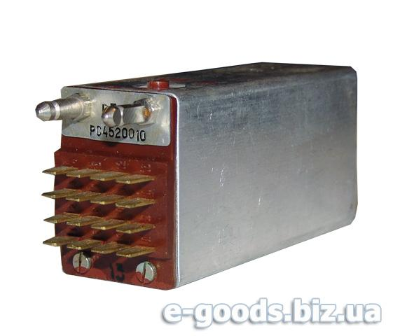 Реле електромагнітне РП-4 РС45220010