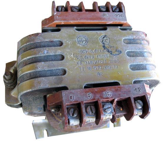 Трансформатор ОСУ-0,4УХЛ412