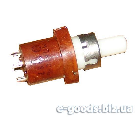 Перемикач кнопковий МПК1С-6-В
