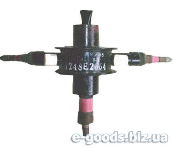 Магнетронний імпульсний підсилювач з рідинним охолодженням МИУ-45