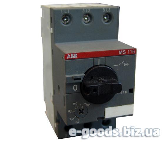 Автомат для захисту електродвигуна ABB MS-116-10А