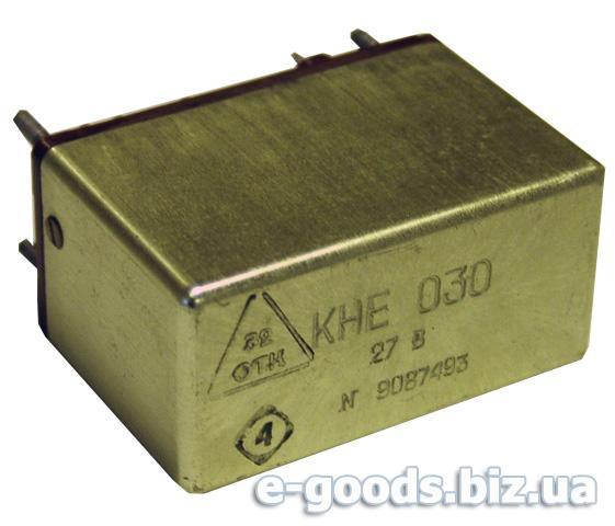 Реле електромагнітне КНЕ 030 27В