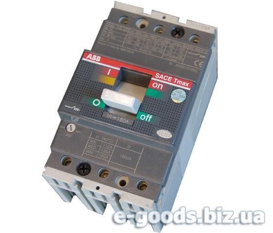 Автомат трьохфазний ABB SACE Tmax T1B160
