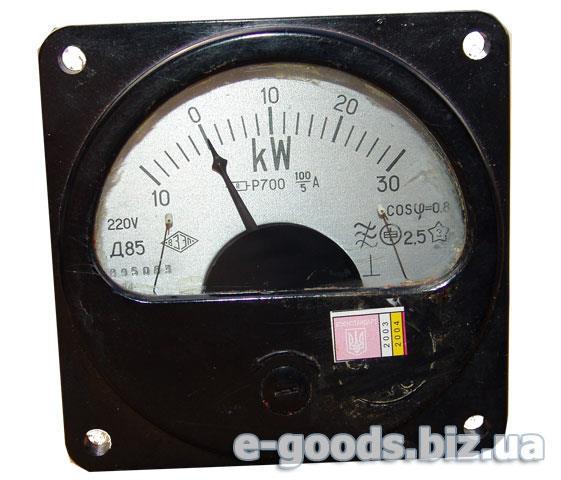 Кіловаттметр Д85 30кW+P700