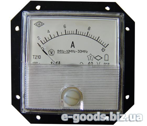 Амперметр Т210 10А