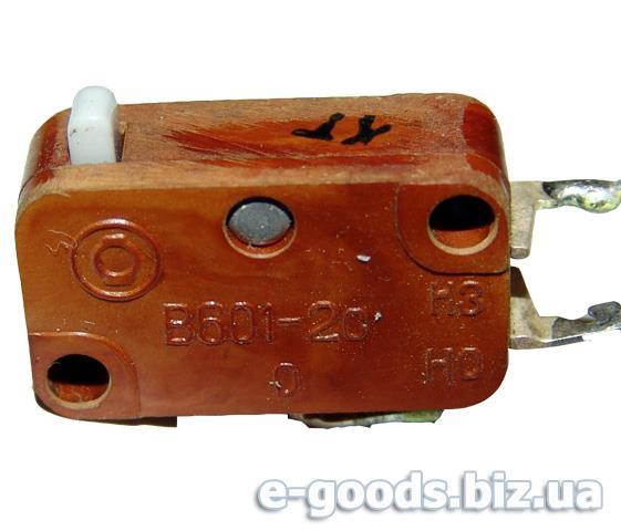 Мікроперемикач В601-2С