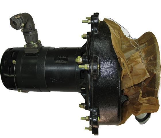 Електричний вентилятор ДВ-201