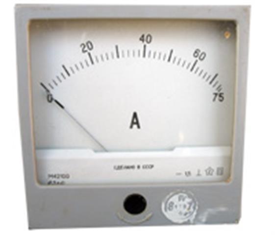 Прилад вимірювальний сили постійного струму, амперметр М42100