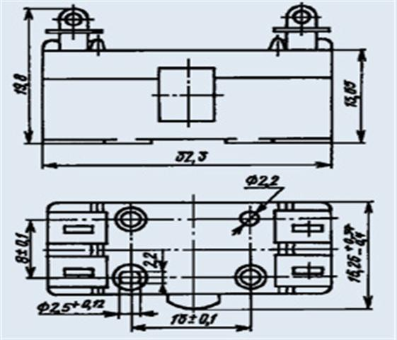 Мікроперимикач Д-311