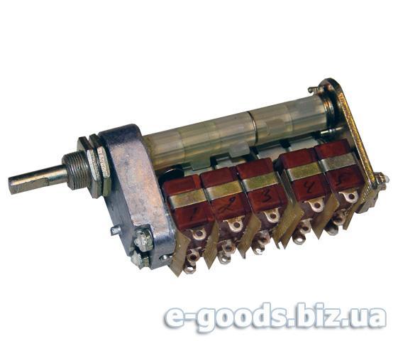 Перемикач поворотний ПКМ5-1