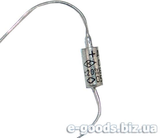 Конденсатор ОСК53-1 0,22 мкФ 15В