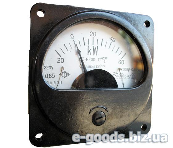 Кіловаттметр Д85 60кW+Р700