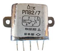 РПВ2/7 - реле постоянного тока