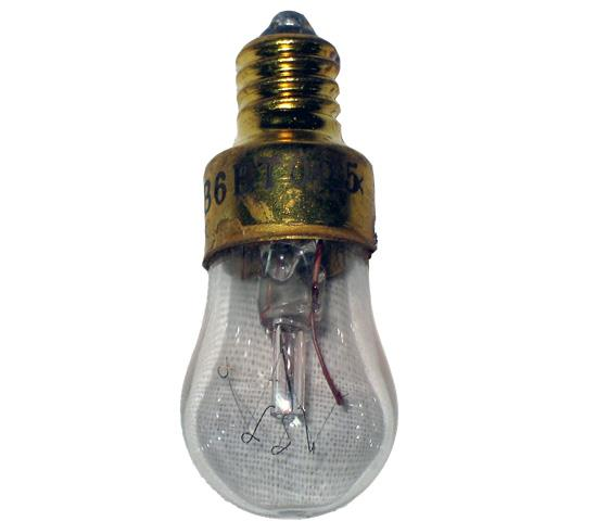 Лампа розжарювання СМ 115-6