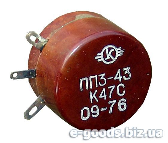 Опір ПП3-43 470Ом К47С