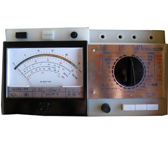 Прилад вимірювальний комбінований Ц4342-М1