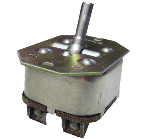 Перемикач перекидний двополюсний 2ПП-45